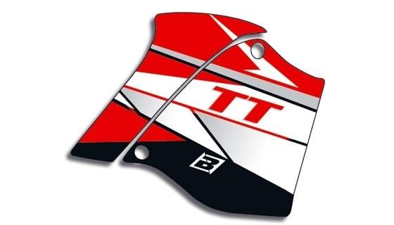 DREAM-rot Tankaufkleber, TT600S-E 92-05
