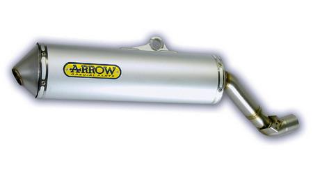 """ARROW """"Enduro Alumilite"""" Schalldämpfer, Suzuki DRZ 400 00-02"""