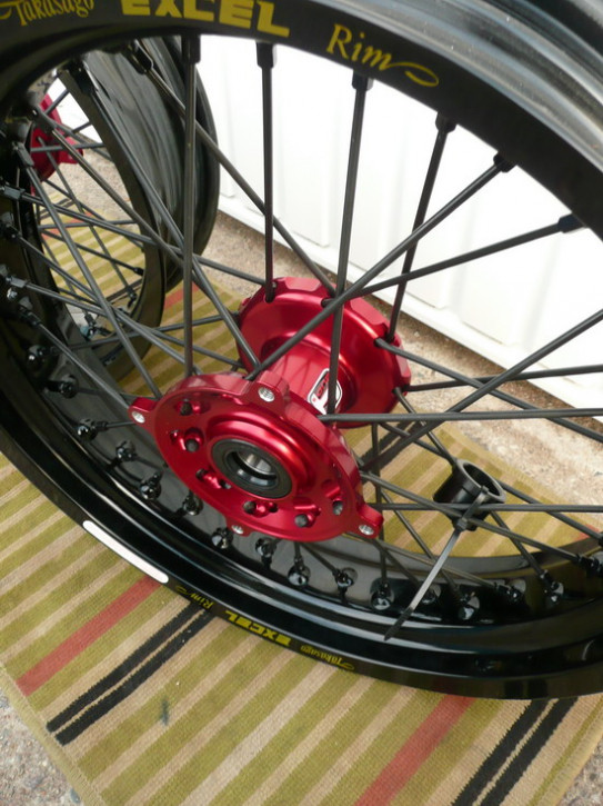 Räder, XR650R