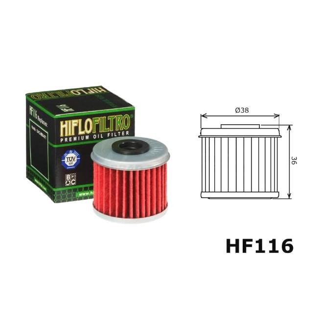Ölfilter HQV, HF116