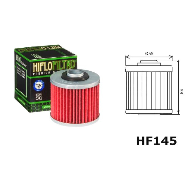 Ölfilter, TT600 83-92 / XT600 84-95