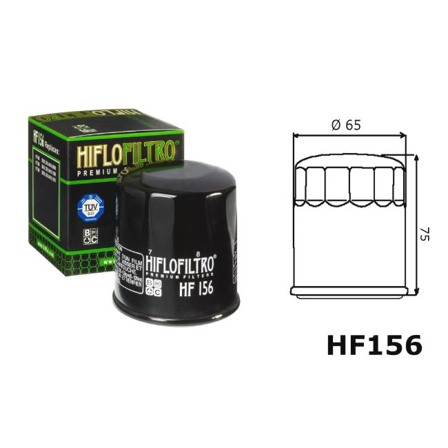 Ölfilter KTM, HF156