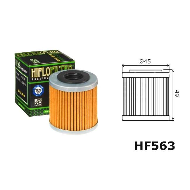 Ölfilter HQV, HF563