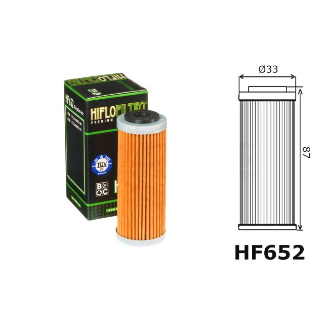 Ölfilter KTM, HF652