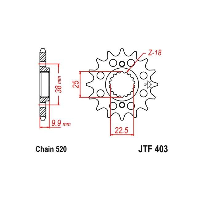 Motorritzel HQV 449/511,