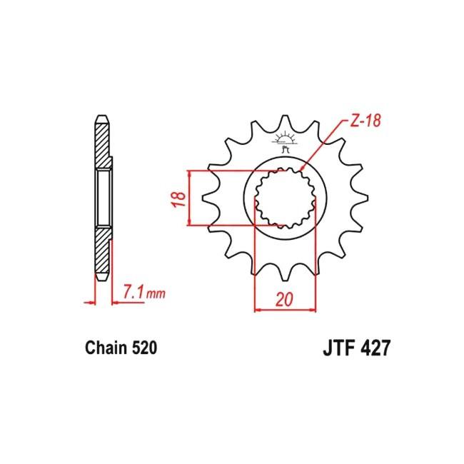 Motorritzel RM 125 88-12