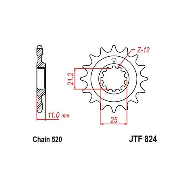 Motorritzel HQV 510/570/610/630 91-13,