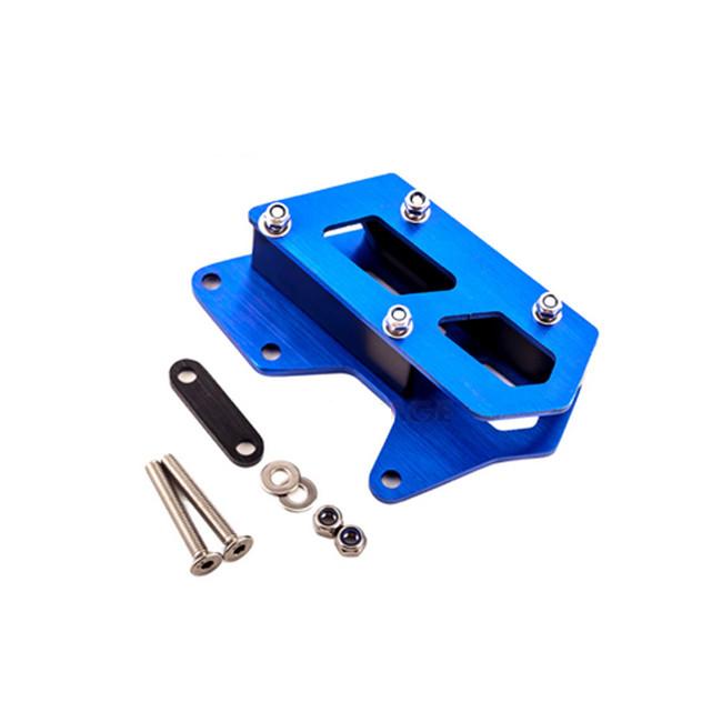 Aluminium Kettenführung blau, DRZ 400