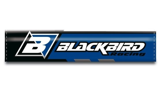 BLACKBIRD Lenkerpolster, blau