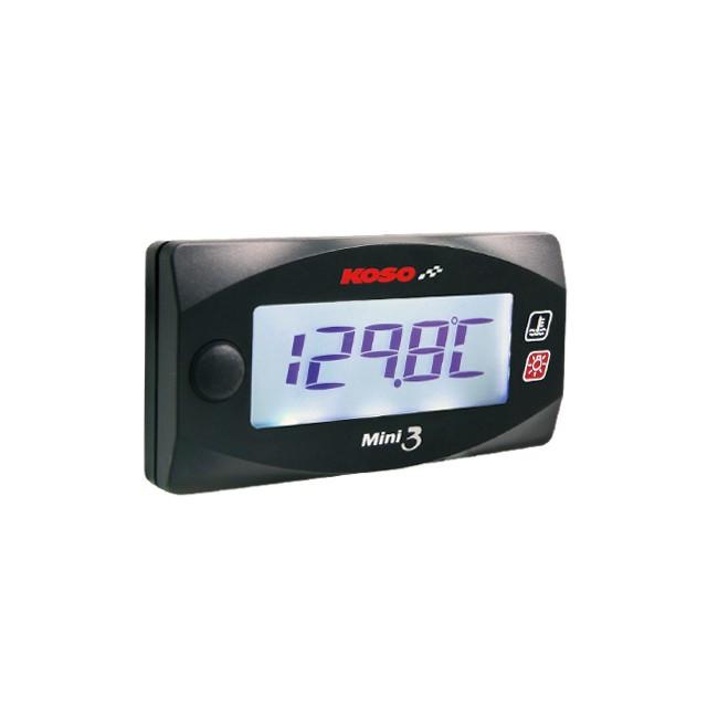 "KOSO ""Mini3"" DUAL-Temperaturmesser"