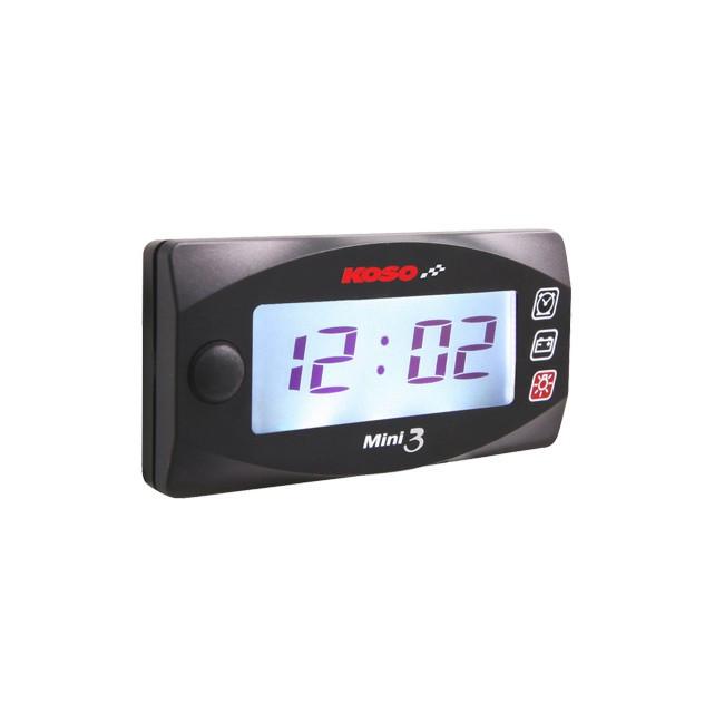 """KOSO """"Mini3"""" Uhr & Voltmeter"""