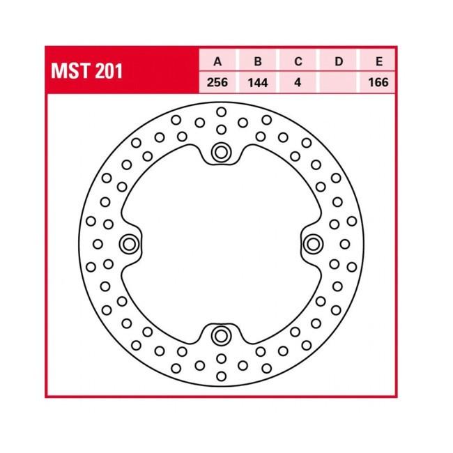 Bremsscheibe Standarddimension, NX650