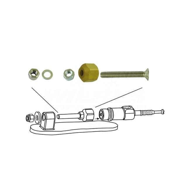 Universal Befestigungskit für HYMEC Nehmerzylinder