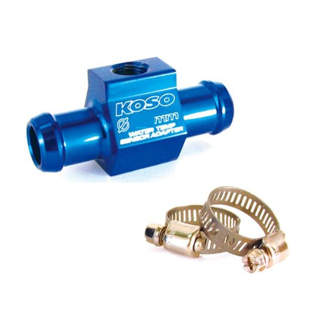 KOSO Temperatursensor Wasserschlauchadapter