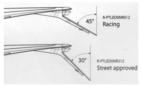 INTEGRA LED Rücklicht RACE, mit ABE